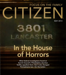 Citizen Magazine Cover - May 2013