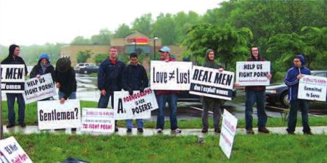 King's Men Protest