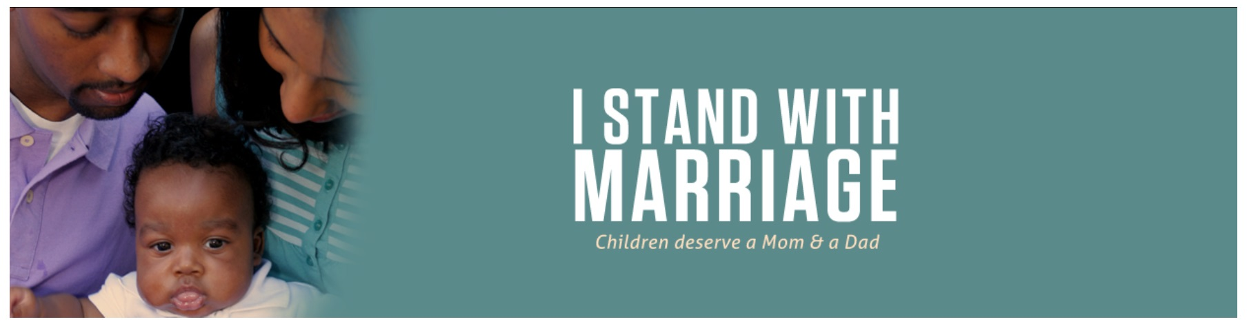 I Stand With Marriage Rotator