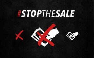 #StoptheSale Thin