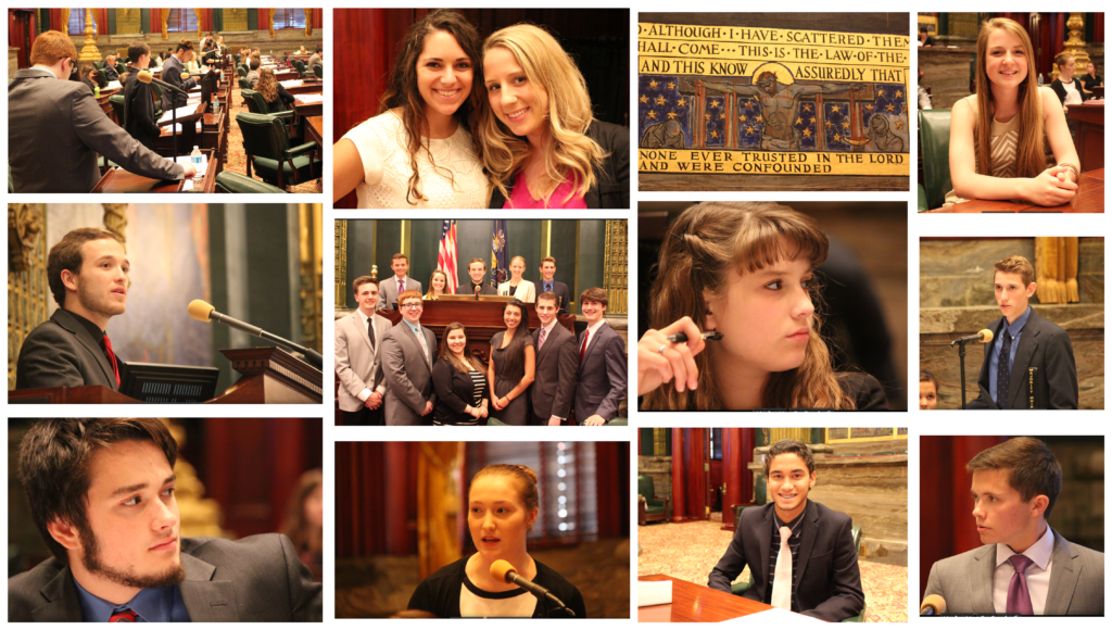 Collage - Senate Floor