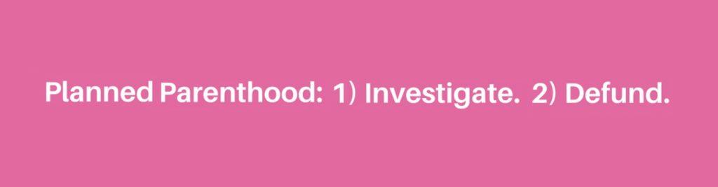 PP - Investigate - Defund