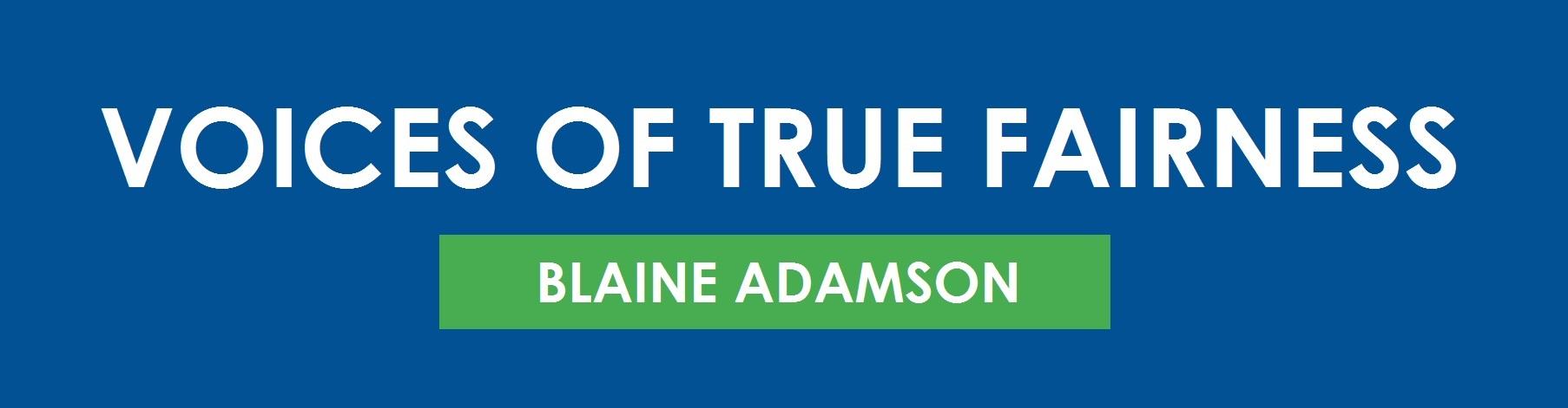 Blaine Adamson banner