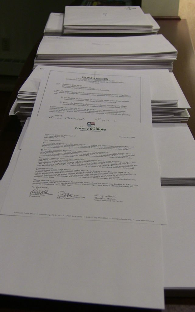 Petitions to the Capitol