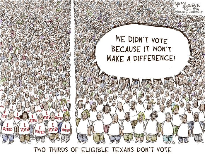Two Thirds of Eligible Texans Dont Vote