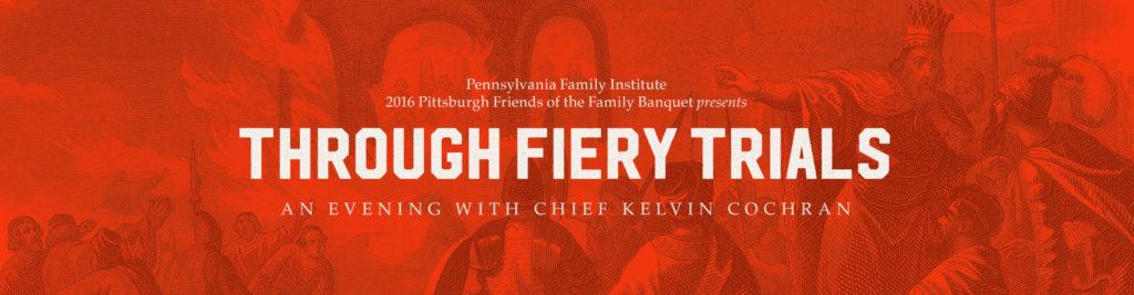 Through Fiery Trials - Banquet with Chief Cochran