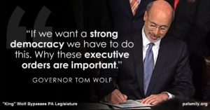"""King"" Wolf - Executive Order"