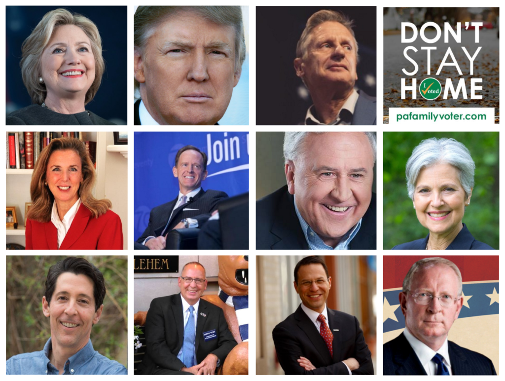 Candidate Pages - PaFamilyVoter.com
