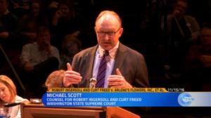 ACLU attorney Michael Scott