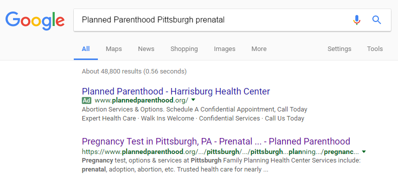planned parenthood call center